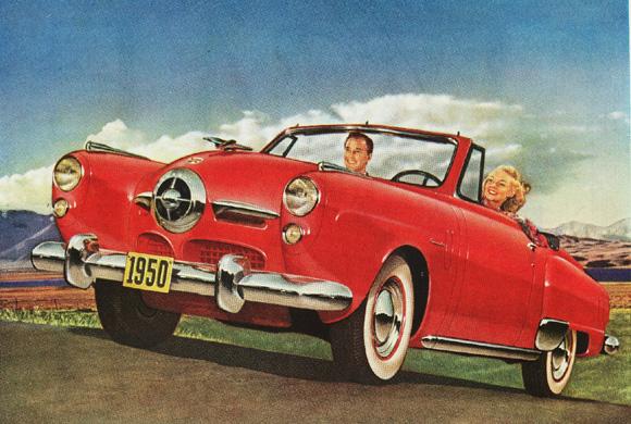 """'50 Studebaker """"bullet nose"""""""