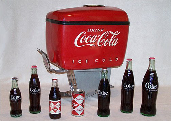 Loewy designs for Coca-Cola