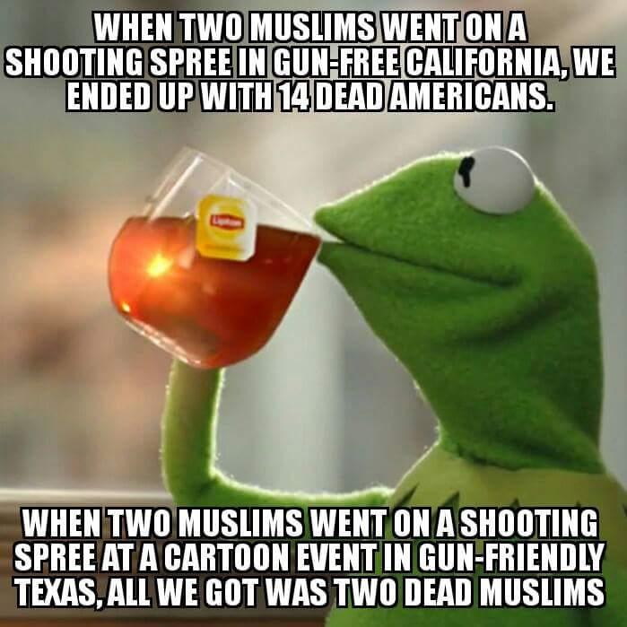 Muslim shooting spree