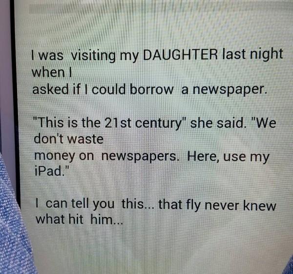newspaper:iPad
