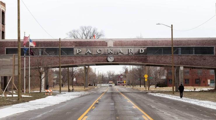 Packard Plant Bridge