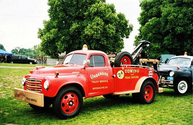 Studebaker tow truck