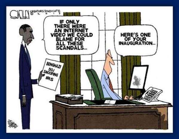 Obama's blame game