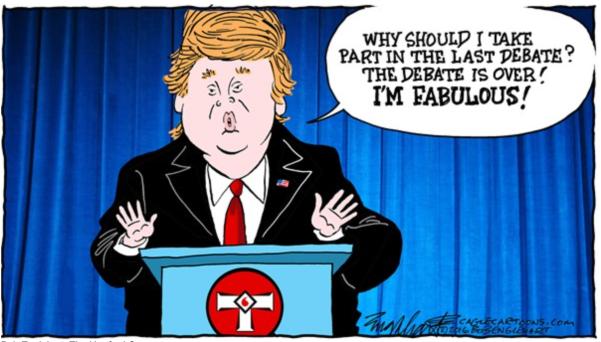TrumpDebateFabulous