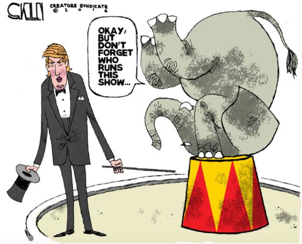 Trump:Elephant
