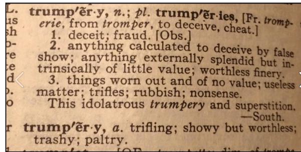 trumpery