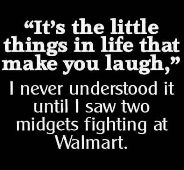 Walmart midgets