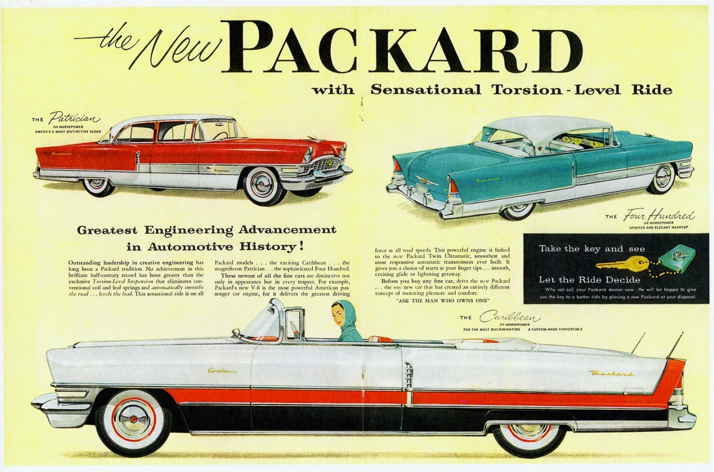Gear Head Tuesday – Packard\'s Fabulous Torsion-Level Ride | \'56 ...