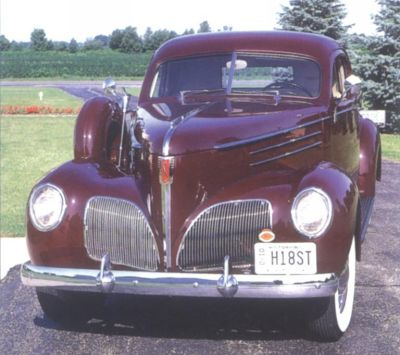 '39 Studebaker Coupe-Express grille