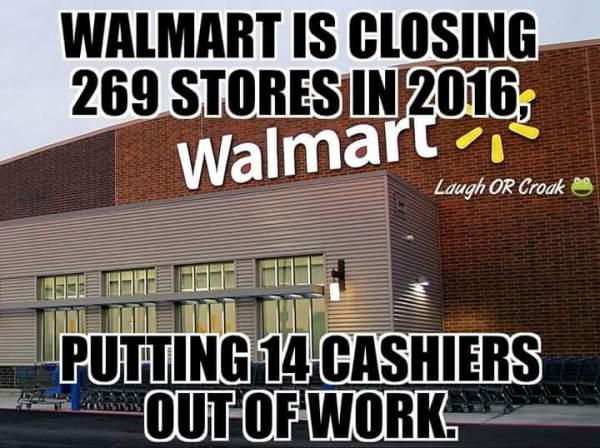 Closing Walmarts