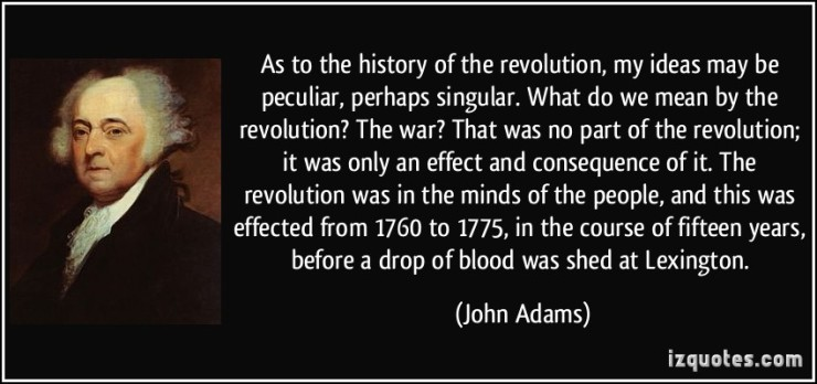 History-of-the-revolution:John Adams