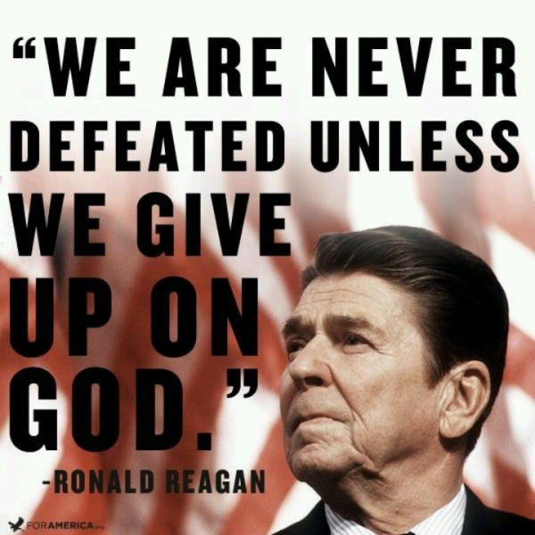 Reagan:Never Defeated