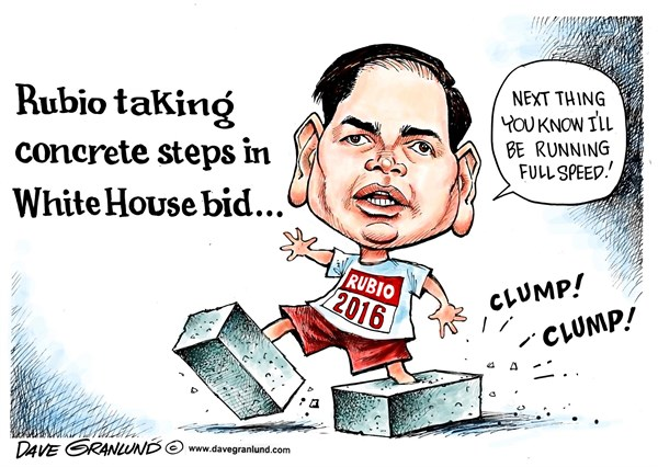 Rubio Concrete steps