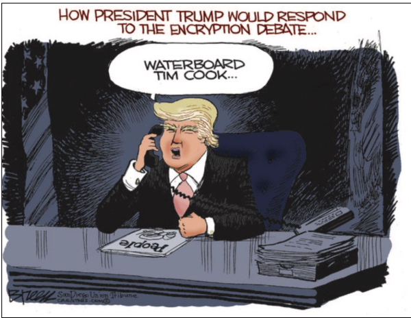 Trump:Waterboard Cook