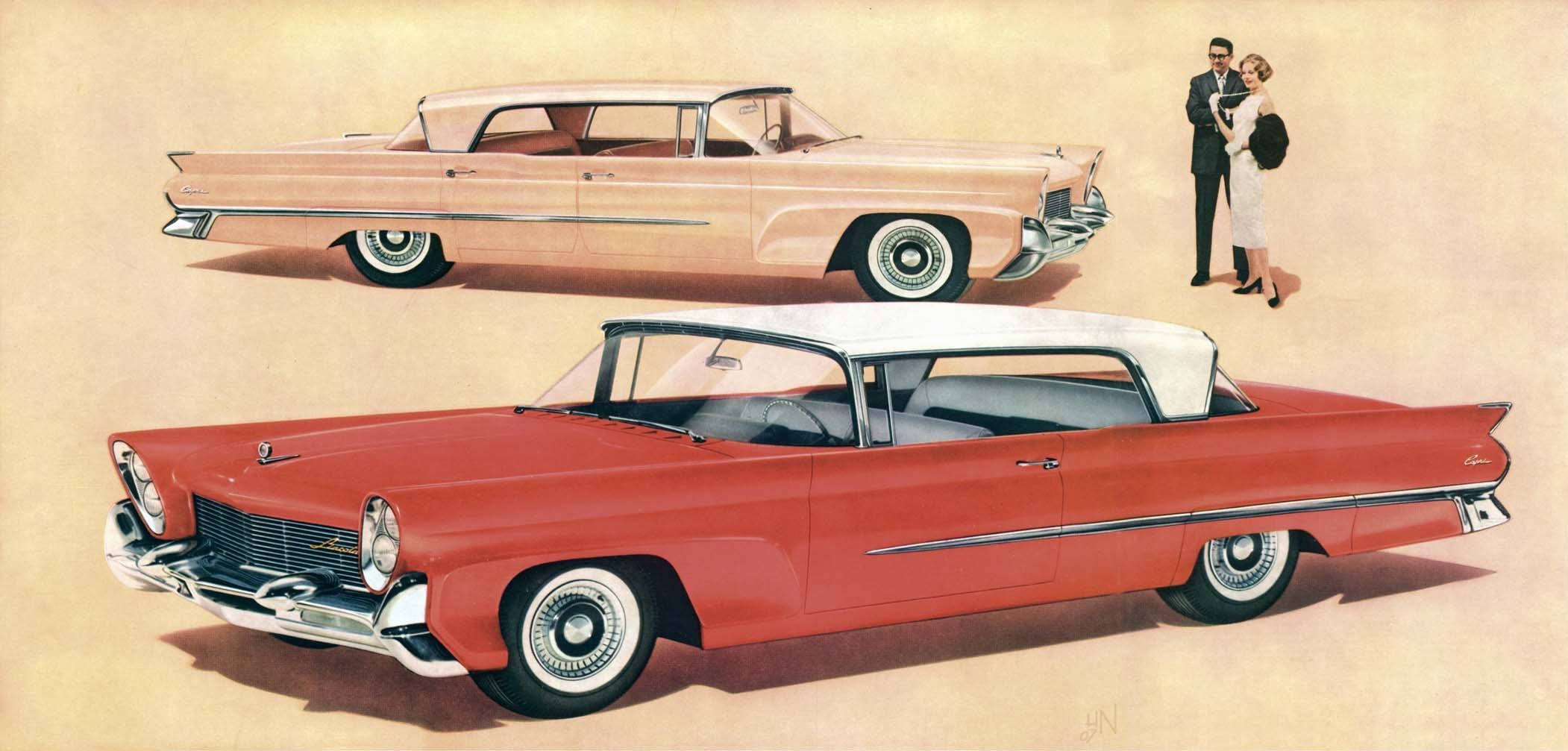gear head tuesday the 58 60 land yacht lincolns 56 packard man rh 56packardman com 1958 Lincoln 1963 Lincoln
