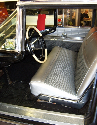 60 Lincoln interior