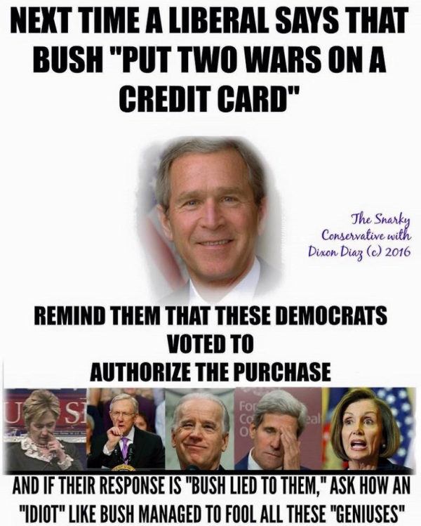 Bush Credit Card