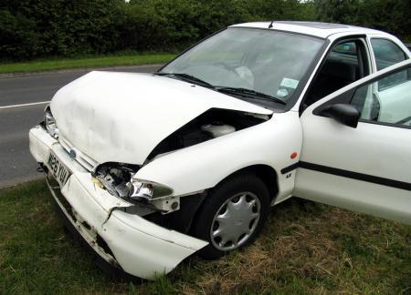 Crashed-car