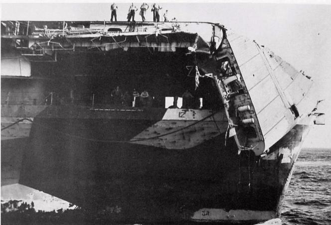 CV-12 after typhoon