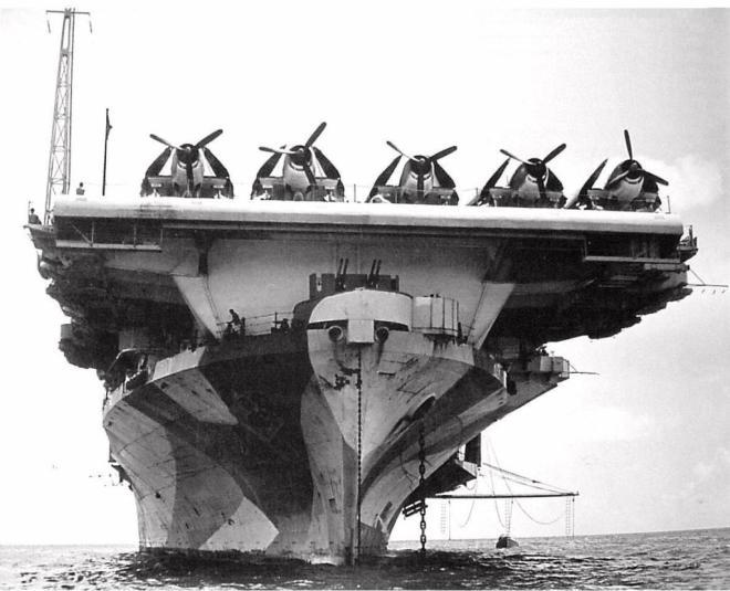 CV-12 bow shot