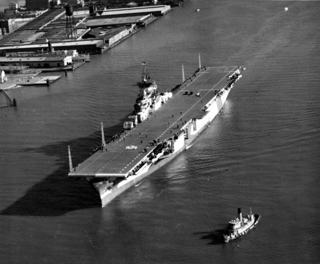 CV-12 shakedown cruise