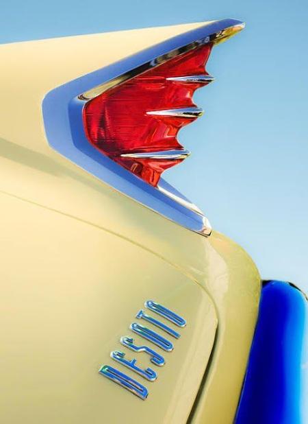 DeSoto taillight