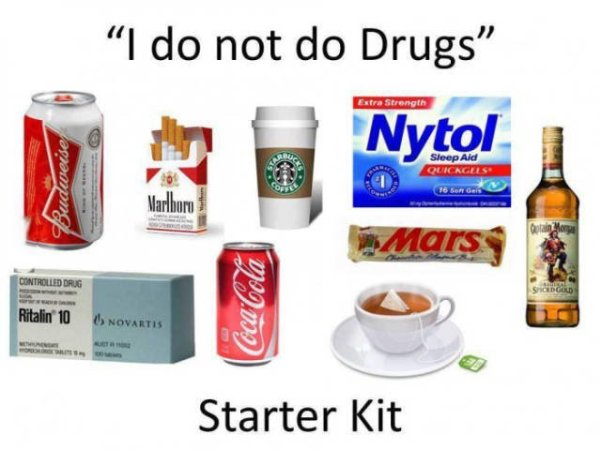 I don't do drugs
