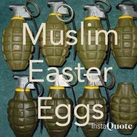 Muslim Easter Eggs