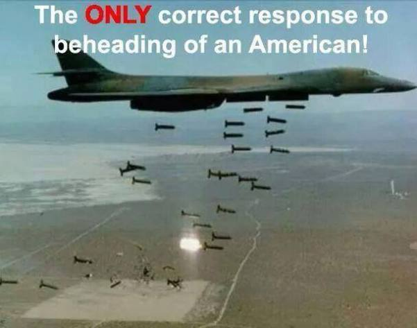 Response to beheadings