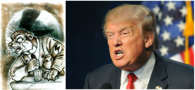 Separated at Birth-Trump-Spode