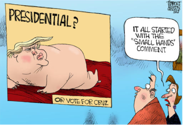 Trump centerfold