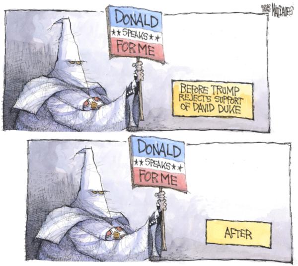 Trump:KKK