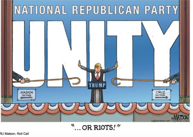 Trump:Unity:Riots