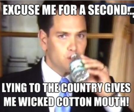Lying Rubio