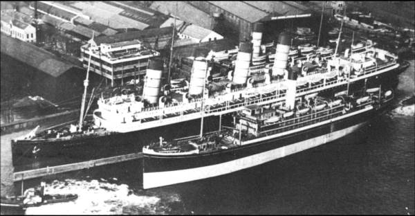 Mauretania-re-engined