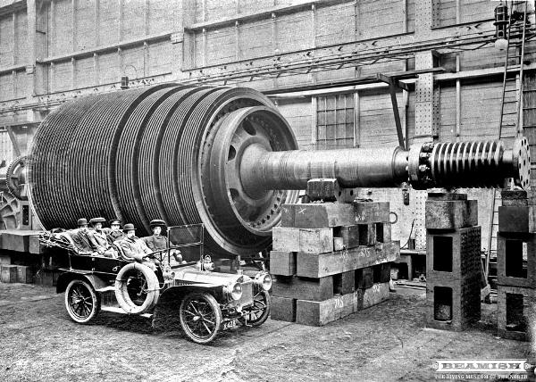 Mauretania-turbine