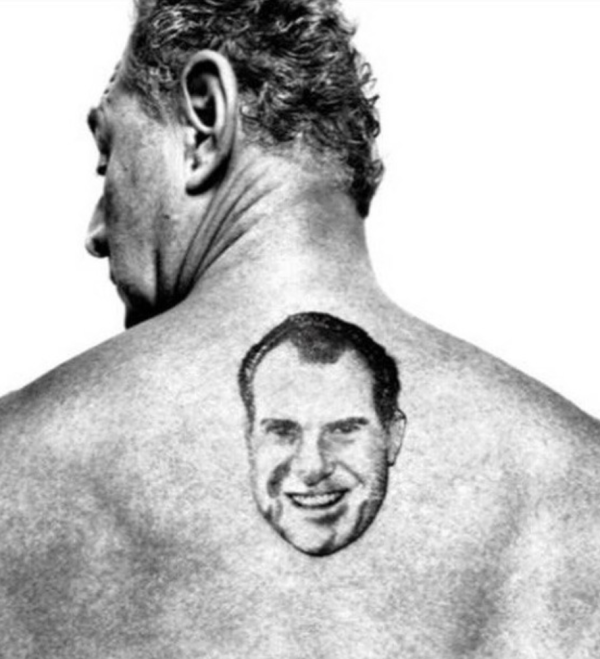 Nixon tattoo