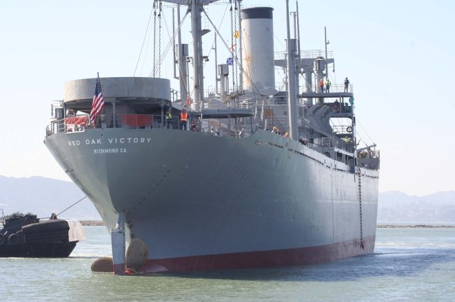 Red Oak Victory-stern view