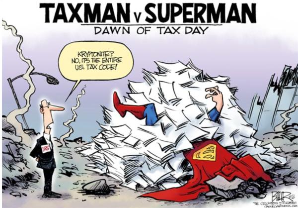 Taxman vs. Superman