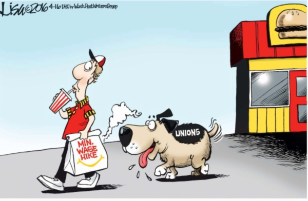 Unions-minimum wage
