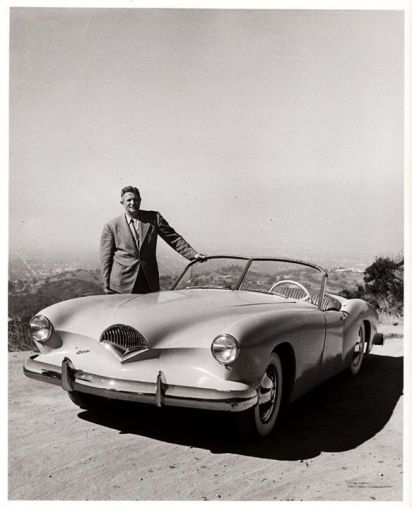 Gear Head Tuesday – Designer Dutch Darrin | '56 Packard Man Kaiser Darrin Wiring Diagram on