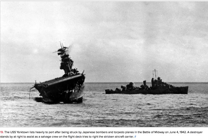 Midway_Yorktown_sinking