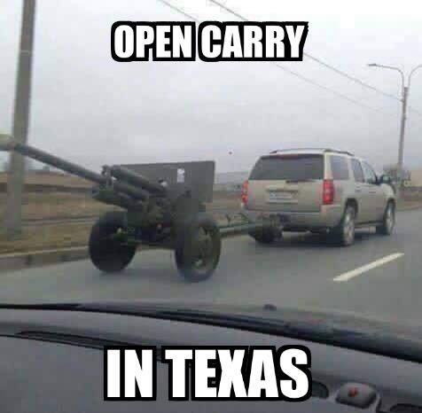 Open Carry In Texas