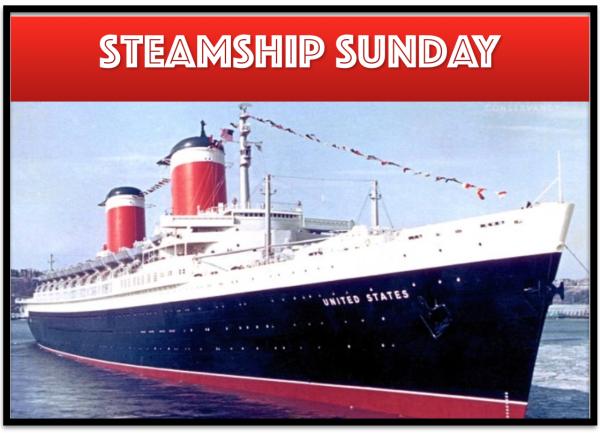 Steamship Sunday