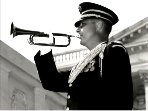Taps Bugler-Arlington