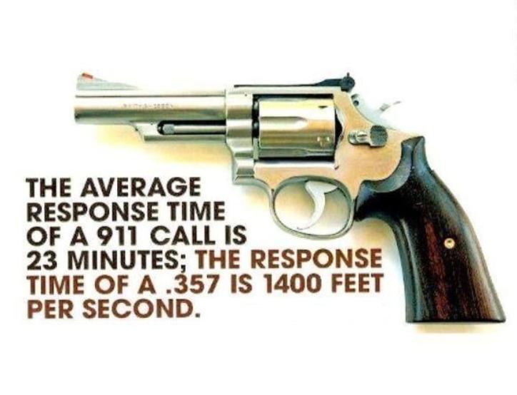 2nd Amendment-response time