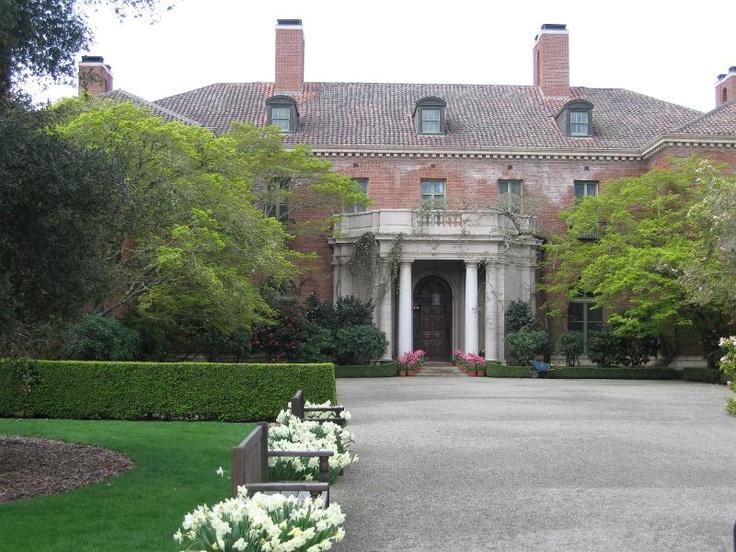 Filoli-front entrance