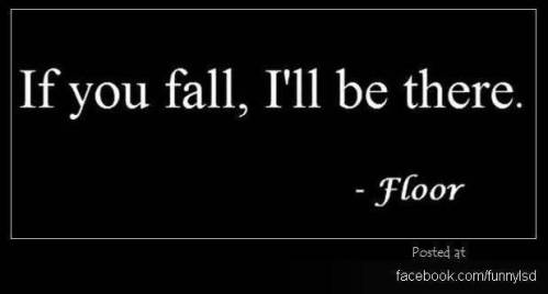 If you fall-floor