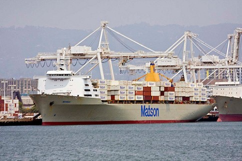 Matson container ships_OAK