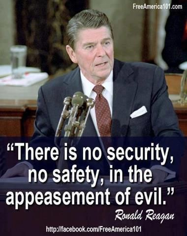 Reagan-No_Security_In_Appeasement_of_Evil